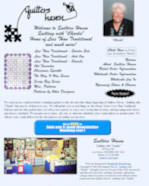 Old Website for Quilters Haven
